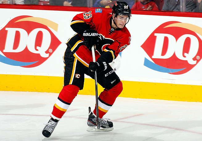 Sean Monahan has put together a stellar start to the season in his rookie year with the Flames.