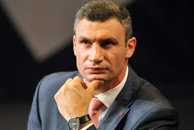 Vitali Klitschko was elected to the parliament last fall and is planning a presidential run.