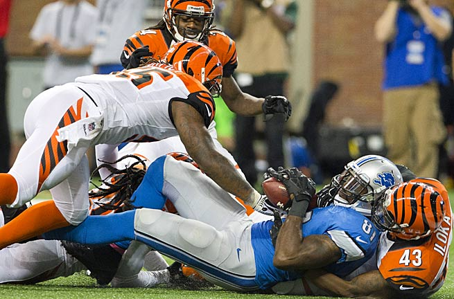 Calvin Johnson is starting to come into form, as the Bengals discovered in Week 7.