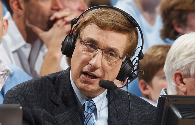 Marv Albert is the voice many NBA fans associate with the game's most memorable moments.
