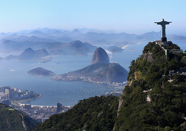 Rio de Janeiro will begin hosting the 2016 Olympics in 1,000 days as of Saturday.