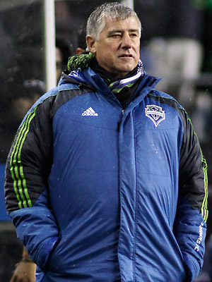 Sigi Schmid has been the head coach of the Sounders since their inaugural MLS season in 2009.