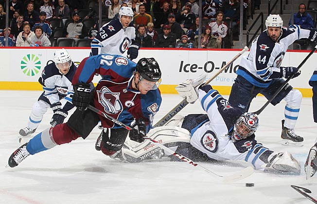 Captain Gabriel Landeskog and his red hot Avalanche got off to a franchise record 10-1-0 start.