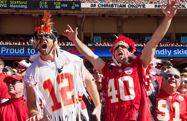 Fans are ecstatic about the Chiefs' undefeated start a year after the team had the worst record in the NFL.