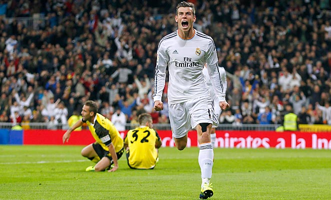 Gareth Bale scored twice and set up two more as Real Madrid crushed Sevilla at the Bernabeu.