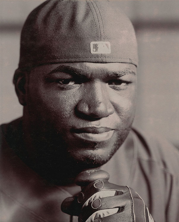 Ortiz poses for a portrait during spring training in Fort Myers, Fla.