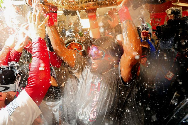The Red Sox 37-year-old hitter, David Ortiz, went from mere superstar to virtually impossible to retire. In Game 6 of the World Series, the Cardinals more or less gave up trying, walking him four times (three of them intentionally), but still Ortiz finished 11-of-16 in the series for a batting average of .688, and was named MVP. In honor of Ortiz, we present rare photos of the Boston slugger through the years.