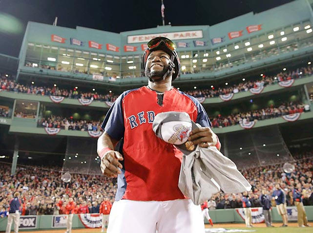 David Ortiz was named series MVP after hitting a staggering .688 with a .760 on-base percentage while knocking two home runs and driving in six runs. Ortiz is also the only Red Sox player to have played on all three of Boston's recent championship teams.