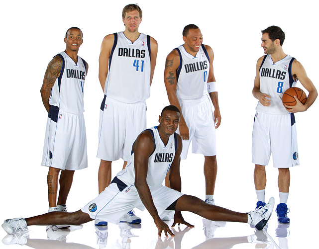 Mark Cuban doesn't appear completely sold on the process of aging, riding veterans Dirk Nowitzki (35), Vince Carter (36) and Shawn Marion (35) into the sunset. Dallas shored up its point guard problems by adding Jose Calderon, but the 32-year-old has seen better days himself. Dallas' deficiencies athletically and defensively will keep this veteran squad from going too deep in the playoffs.