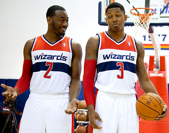 The future is bright with John Wall and Bradley Beal, but unfortunately for the Wizards, the future isn't now. The preseason trade of Marcin Gortat gives them a shot at the playoffs, but only because the East is susceptible to a losing team sneaking in.