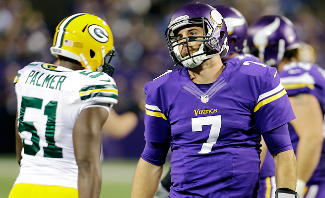 Despite his ineffectiveness against the Packers last week, Christian Ponder will get another start.
