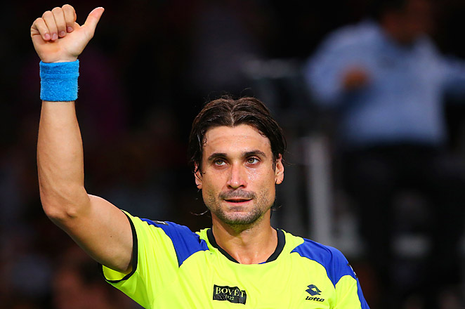 After beating top-seeded Rafael Nadal, David Ferrer will now face Novak Djokovic in the final of the Paris Masters.