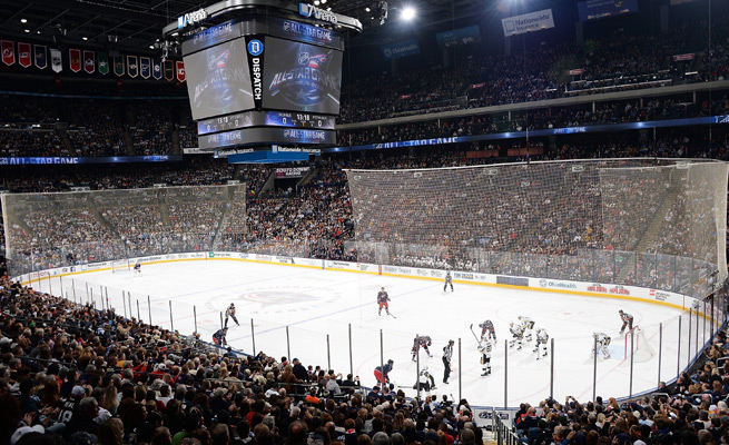 Columbus' Nationwide Arena was awarded the 2013 NHL All-Star game before it was cancelled due to the lockout.