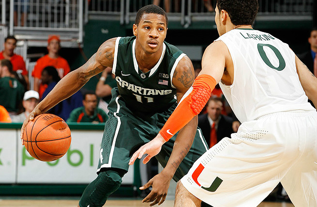 If Keith Appling can be a steady hand for Michigan State, the Spartans could be in the hunt for a national title.