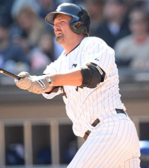 Paul Konerko has played all but 81 of his 2,187 career games with the White Sox.