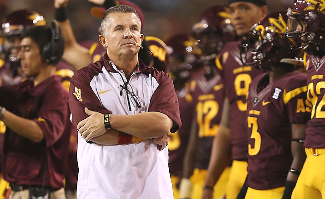Todd Graham and his son Bo were flying on a recruiting trip when their plane dove before leveling out.