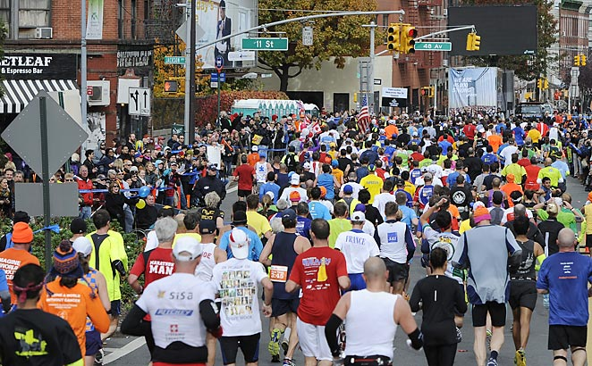 The New York City Marathon attracted a record number of participants the year after it was canceled.