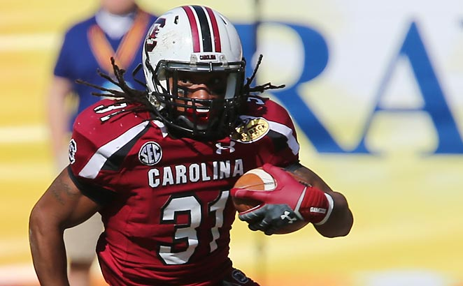 Kenny Miles last played for South Carolina in the 2012 season, backing up Marcus Lattimore.