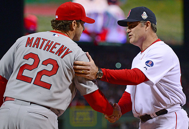 Mike Matheny and John Farrell are just two of the managers hired recently without any previous experience in the job.