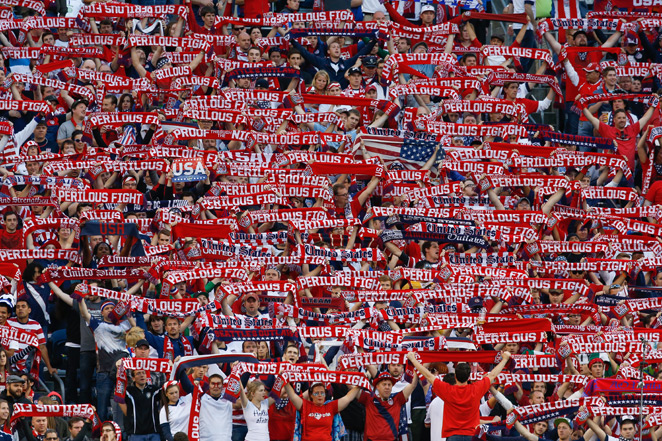 Americans were granted 66,646 of almost 900,000 World Cup tickets allocated by FIFA in the opening phase of sales, the most of any visiting fans traveling to Brazil this coming summer.