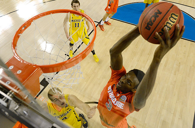 With a newly polished jumper, Jerami Grant should emerge as a breakout star for Syracuse this season.