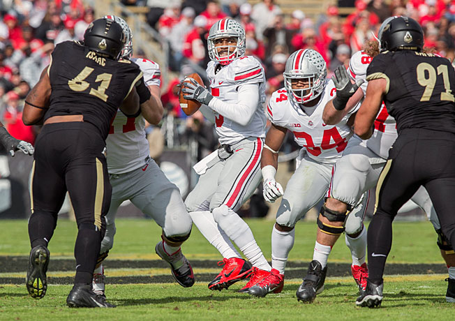 After routing Purdue, Braxton Miller (5) and Ohio State have outscored their last two opponents 119-14.
