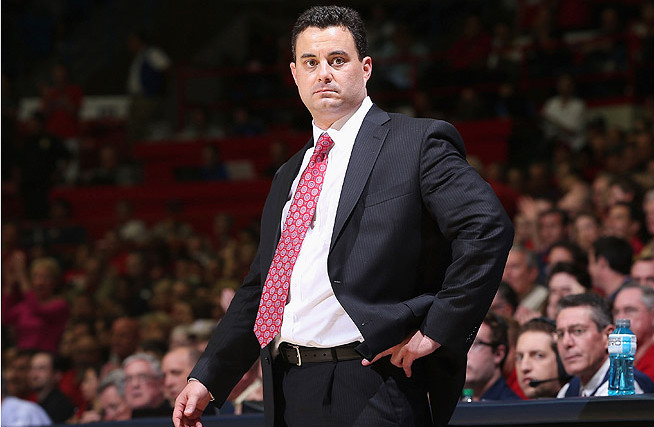 Head coach Sean Miller is hopefully that his Arizona squad can continue to successfully implement his Pack-Line Defense.