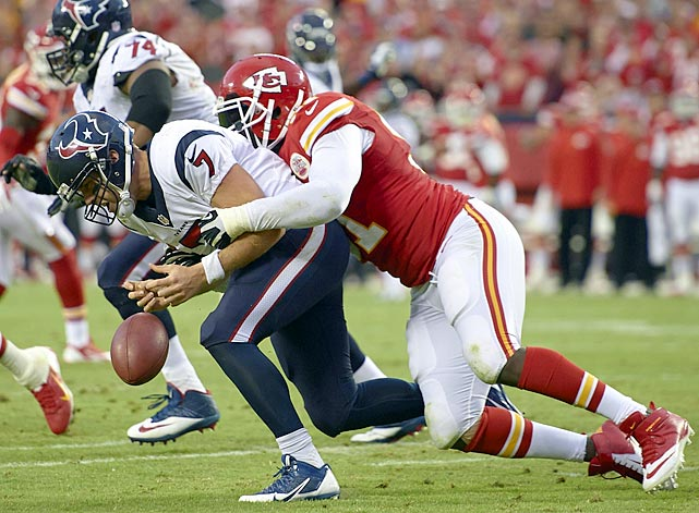 Such is Hali's completeness: nine sacks, four forced fumbles and two turnovers returned for touchdowns.