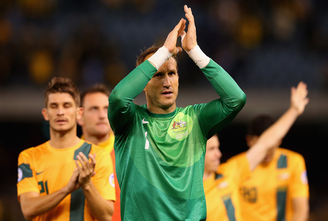 Australia goalkeeper Mark Schwarzer, his nation's most-capped player with 109 appearances, announced his retirement Wednesday.