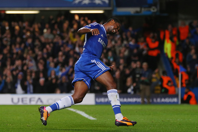 Samuel Eto'o enjoyed a resurgence with two goals in Chelsea's 3-0 Champions League win over Schalke on Wednesday.