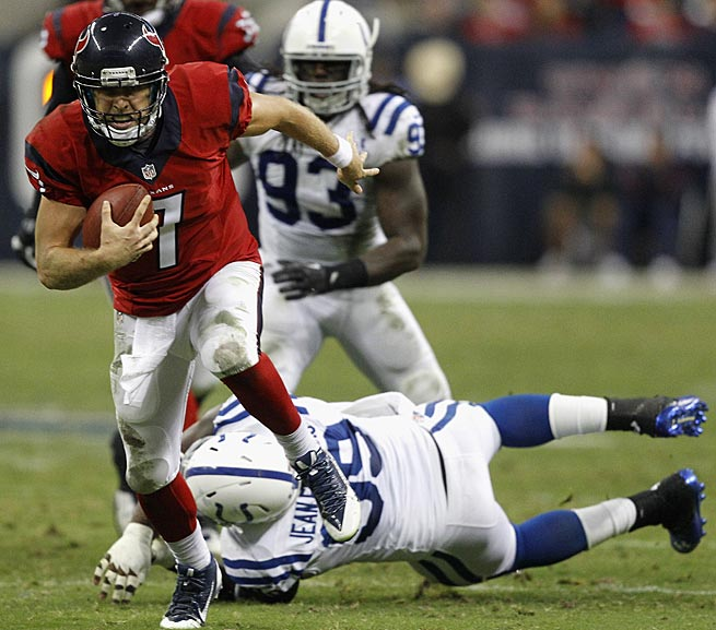 Case Keenum has played well for the Texans, but has yet to lead them to a victory.