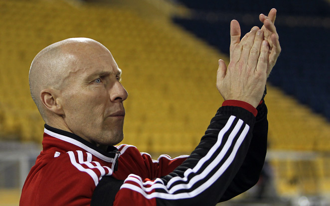 Egypt and former U.S. national team manager Bob Bradley will guide the Pharaohs against Ghana in Cairo, where security worries are of the utmost concern.