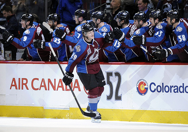 Nathan MacKinnon's heady play has belied his status as one of the youngest players in the NHL.