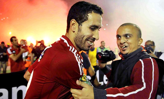 Mohamed Aboutreika helped Al Ahly retain their Champions League crown against Orlando Pirates.