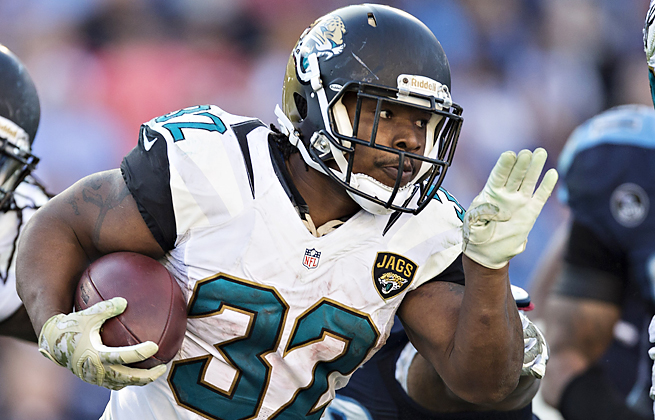 Maurice Jones-Drew was one of the Jaguars' few fantasy assets in their first win of the season.