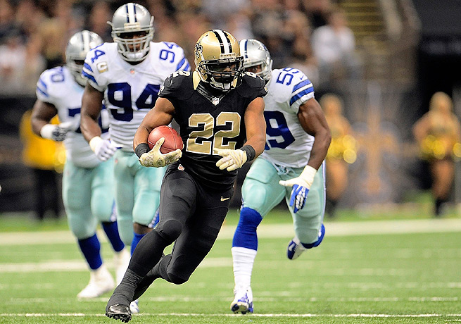 Mark Ingram's career day paved the way for the Saints' offensive domination of the helpless Cowboys.