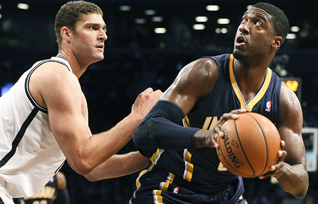 With a hand from Roy Hibbert, the Pacers are off to their best start (7-0) in franchise history.