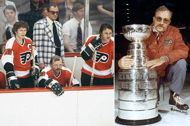 Shero's long wait for induction was a hot topic for years, but the innovative coach of the 1974 and 1975 Stanley Cup-winning Flyers finally was given his due. Over his 10-year career, he posted a .612 points percentage, fourth best all-time behind Scotty Bowman, Mike Babcock and Toe Blake. He was one of the first to include the study of game film in his preparation and to hire a full-time assistant coach. He also began the practice of game-day skates to address any concerns ahead of that night's contest (and maybe partly to keep his team of carousers in line).
