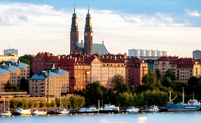 Stockholm became the sixth city to enter the fray to host the 2022 Winter Olympics.