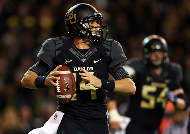 After routing Oklahoma last week, Bryce Petty (14) and Baylor will face off with Texas Tech on Saturday.