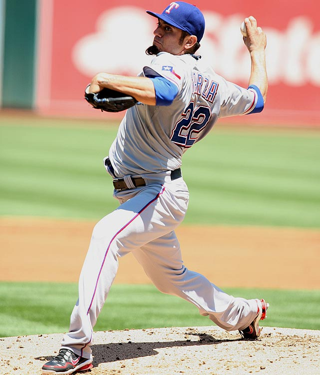 <bold>2013 Stats:</bold> 10-6, 3.82 ERA, 1.236 WHIP, 7.9 K/9 <bold>Current team:</bold> Rangers <bold>Best fit:</bold> Angels Garza missed the first month and a half of the season while recovering from a strained lat, and while he pitched well as a Cub (6-1, 3.17 ERA) he disappointed after being traded to the Rangers (4-5, 4.38). He has, however, been generally consistent in a career that has already run through four organizations -- his ERA has been between 3.32 and 3.95 in every season since 2007 -- and the Angels are in desperate need of consistency in a rotation that seems to have two open spots behind Jered Weaver, C.J. Wilson and Garrett Richards.