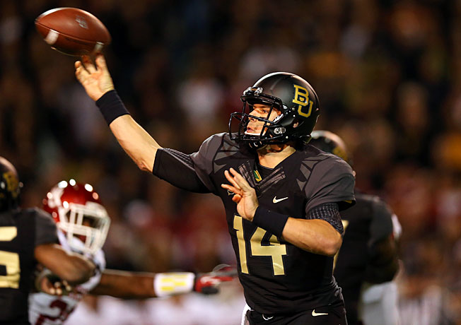 Bryce Petty and Baylor are fifth in the BCS standings, but they have a few high-profile games remaining.