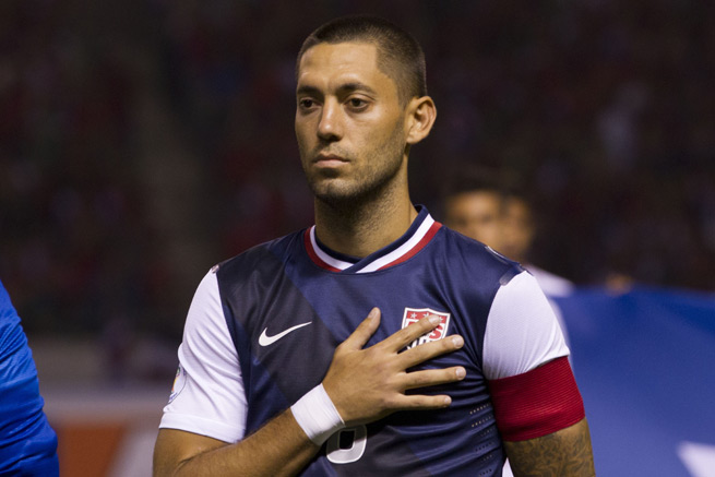 USA captain Clint Dempsey will miss the upcoming friendlies against Scotland and Austria with a right calf strain.