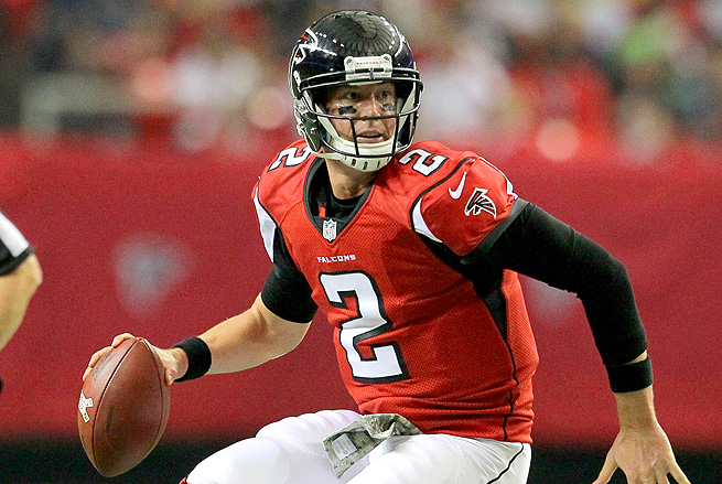 Matt Ryan has struggled the last few weeks, but he draws a good matchup with Tampa Bay this week.