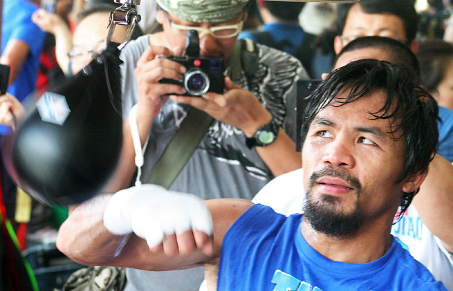 Manny Pacquiao may be mulling retirement depending on the result of his upcoming fight.
