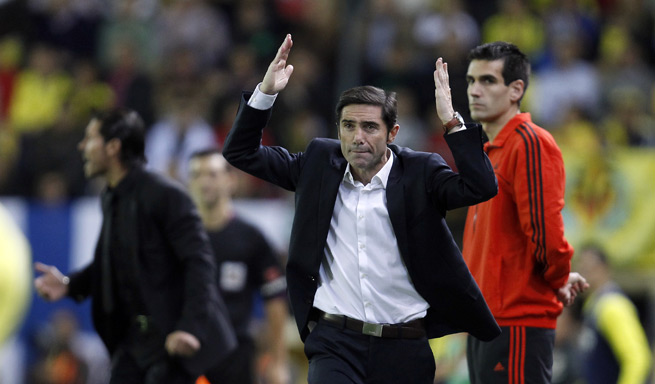 Villarreal manager Marcelino Garcia Toral signed a two-year extension to remain with the club through 2016.