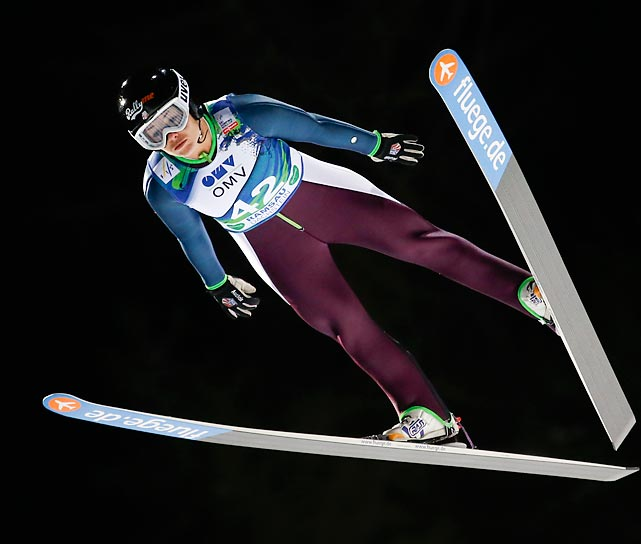 Don't confuse her with Vonn. Lindsey Van was one of the most outspoken advocates for women's ski jumping to be included on the Olympic program and she is one of the most respected voices in the sport. At 29, Van is not only a 13-time U.S. champion, but also a lifesaver, a successful bone-marrow donor to a random leukemia sufferer.