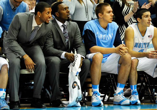 P.J. Hairston and Leslie McDonald could be benched for the forseeable future.
