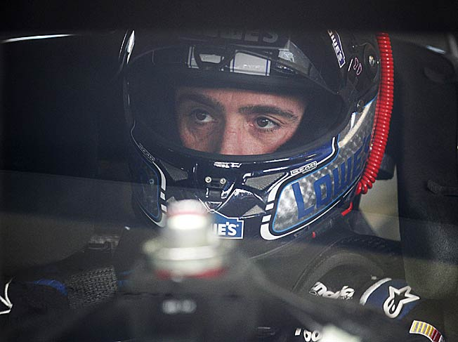 With his sixth Cup championship in sight, Jimmie Johnson just has to avoid trouble to win it.
