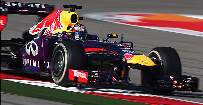Sebastian Vettel set a Formula-One record with his win in Austin on Saturday.